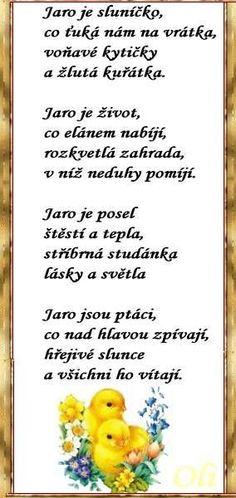 jarní básničky - Hledat Googlem