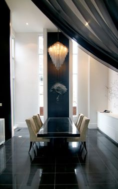 Minimalist in manhattan sliding wall holly hunt and for Interior design consultant chicago