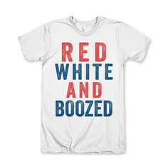 Red White And Boozed by AwesomeBestFriendsTs on Etsy We've got the coolest designs for your 4th of July, while you're in check out our best friends matching shirts, couples shirts and hilarious sarcastic tees.