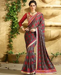 UK Designer Saree Sari Traditional Indian Bollywood Party Evening Bridal Ethnic #NA #Sari