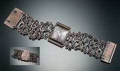 Botanicals - Chain Leaf Bracelet by Nancy L T Hamilton, via Flickr