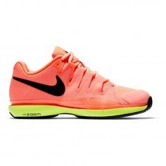 #Nike Court Zoom Vapor 9.5 Tour 631475 #tennisschoenen dames hyper orange De Wit Schijndel
