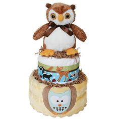 Diaper Cakes for Sale! The widest selection of baby shower diaper cakes Owl Diaper Cakes, Diaper Cake Boy, Cakes For Sale, Baby Shower Diapers, Baby Showers, Teddy Bear, Google Search, Toys, Animals
