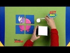 Disney Junior - Art Attack : Puzzle d'Animaux ! - En Français