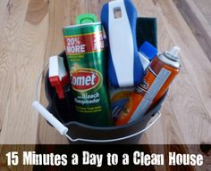Awesome tips that I had never thought of. Totally doable, now I really can have a clean house!