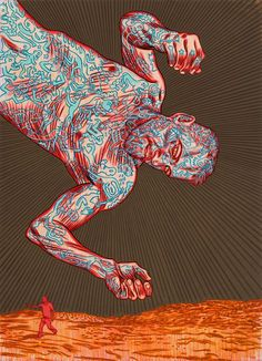 Conrad Botes Dexter Creepy Zoom in. Artist Art, Modern Artists, Contemporary Artists, Contemporary African Art, South African Artists, Africa Art, Famous Artists, Top Artists, Africa