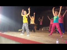 Zumba® Gold cool down stretch Girl on Fire Alicia Keys - YouTube