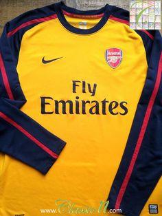 db9251d9c 2008 09 Arsenal Away Shirt (L). Arsenal KitArsenal JerseyArsenal Football  ...