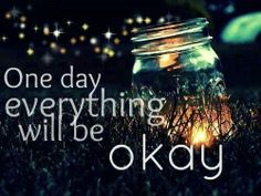 Don't lose your self worrying about today there will always be a time when everything is just right and only then will you be able to worry why is everything right?