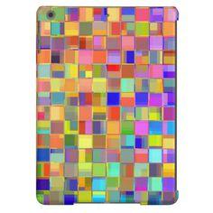 Mosaic Colors iPad Air Case