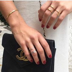Rings, Bangle and Chanel perfection