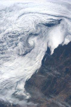 California coast.  Taken July 22, 2013.  KN from space.