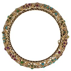 Shop diamond and gold bangles and other vintage and antique bracelets from the world's best jewelry dealers. Pendant Set, Gold Pendant, Pendant Jewelry, Gold Jewelry, Gold Bangle Bracelet, Gold Bangles, Antique Bracelets, Discount Jewelry, Jewelry Design