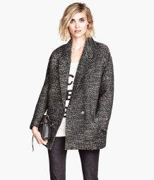Manteau chiné