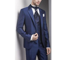 >> Click to Buy << MS19 Groom Tuxedos Evening Suits Bridegroom Suits Business Formal Occasion Suit Jacket+Pants+Vest #Affiliate