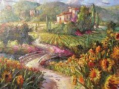 View of the Vineyard ~ Steven Qarterly