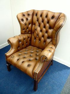 Chesterfield Wing Back Vintage Chesterfield Chair, Wingback Chair, Armchairs, Sofas, Whiskey Room, Aisle Style, Queen Anne, Towers, Lacoste