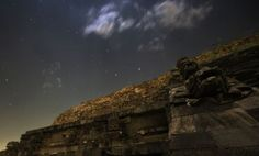 Astrophoto for December 21, 2012: Stars over the Temple of Quetzalcoatl
