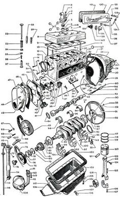 Jeep Engine Hurricane F Head 134 Pictures Jeep Wrangler Tj, Jeep Cj, Old Jeep, Jeep Willys, Jeep Vintage, Mécanicien Automobile, Electric Car Engine, Jeep Photos, Mechanical Design