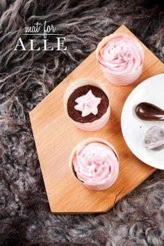 Sjokoladecupcakes. www.matforalle.no