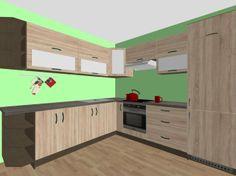 drevena kuchyna #kuchyna #nabytokbetak #nabytok #kuchynasnov #kuchynanamieru #3d #vizualizacia #interierovydizajn
