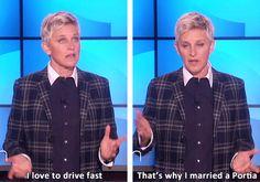 Haha @Ellen Page DeGeneres !!!