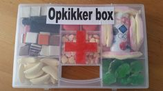 Opkikker box voor zieke opa !
