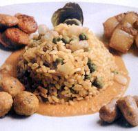 Arroz a la aragonesa - Cocina aragonesa. Gastronomía de Aragón #Spain