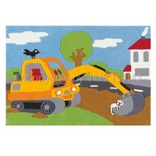 The Digger Rug by Arte Espina