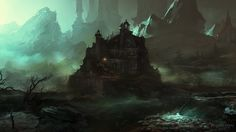 Endless Story: Concept Level Environment 4 by Sergey Musin   Fantasy   2D   CGSociety