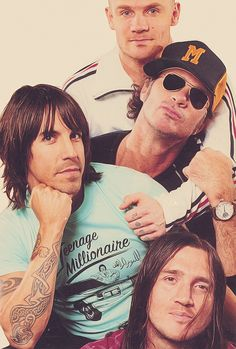 Red Hot Chili Peppers, I'll be seeing these guys in just over a month!