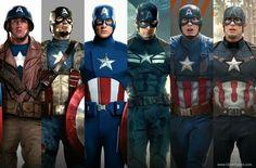 Captain America suits