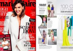 Spotted: Louhayhay carrying our Jet Set Tote in the September issue of Marie Claire Australia Magazine.