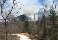 35 homes in danger as Dobson Knob fire in McDowell County grows to 200 acres