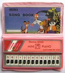 Musical book 80's