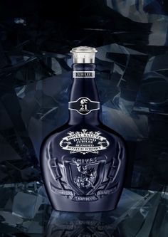 Created in 1953 to mark the coronation of Queen Elizabeth II,Royal Saluteis this year continuing with tradition by celebrating the Queen's 60 year reign with the launch of the Royal Salute Diamond Jubilee Limited Edition.  The bottle is made from hand-blown and hand-cut crystal and is finished with a show-stopping solid cut crystal stopper. It ispresented in a hand-crafted display box.The striking royal-blue bottlehas an RRP of £165 and is available from Harrods, Harvey Nichols…