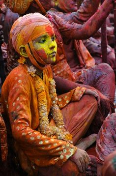 Holi Festival Celebrated in Uttar Pradesh Holi Festival #Holi #Festival #India