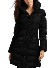 570eb2129bfc Moncler Fashion Leisure Women Down Coats Goose Long Black  moncler  outlet   women