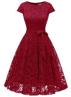 Belle Poque Robe Vintage Ann/ées 50 Pin Up sans Manches Retro Mi Longue Robe Rockabilly Florale Col Carr/é en Coton BPS48