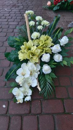 Easter Flower Arrangements, Easter Flowers, Flower Centerpieces, Flower Decorations, Floral Arrangements, Church Flowers, Funeral Flowers, Large Flowers, Silk Flowers
