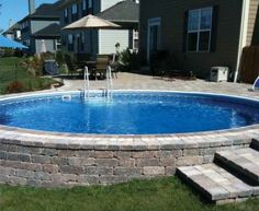 pools above ground pools semi
