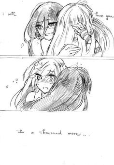 A thousand years - Bubbline Comic pt 3 of 3