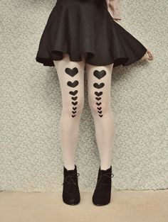 The Pineneedle Collective: Queen of Hearts Tights