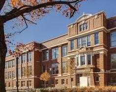 Brad Pitt Funds Converting Historic School into LEED Platinum Affordable Housing   Inhabitat via GR2Design Archive