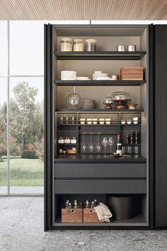 Diy Kitchen, Kitchen Interior, Home Interior Design, Space Kitchen, Kitchen Ideas, Home Bar Cabinet, Drinks Cabinet, Liquor Cabinet, Kitchens And Bedrooms