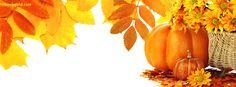 Foliage Pumpkin Fall Time Facebook Cover CoverLayout.com