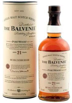 Balvenie Portwood 21YO Single malt scotch whisky Speyside 0,7l, 47,6%