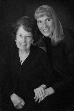 """Bonita Stankunas shared her favorite photo of her mother, Mary Stankunas, taken two years ago for her 90th birthday. She recently passed away on Feb. 25, 2012, at the age of 92. Bonita says, """"Mom was my biggest supporter and harshest critic. She was always there for me when I needed her most. I was blessed to have such a wonderful woman as my mother, role model and friend. I love this photo because it expresses the bond we had as mother and daughter."""" I Am Blessed, 90th Birthday, Mother Mary, Passed Away, Critic, Role Models, Bond, Daughter, Age"""