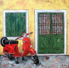 italy Italian Lifestyle, Living In Italy, Painting, Art, Art Background, Painting Art, Kunst, Paintings, Performing Arts