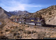 RailPictures.Net Photo: MPEX 9901 Motive Power Industries MPI MK5000C at Helper, Utah by James Belmont